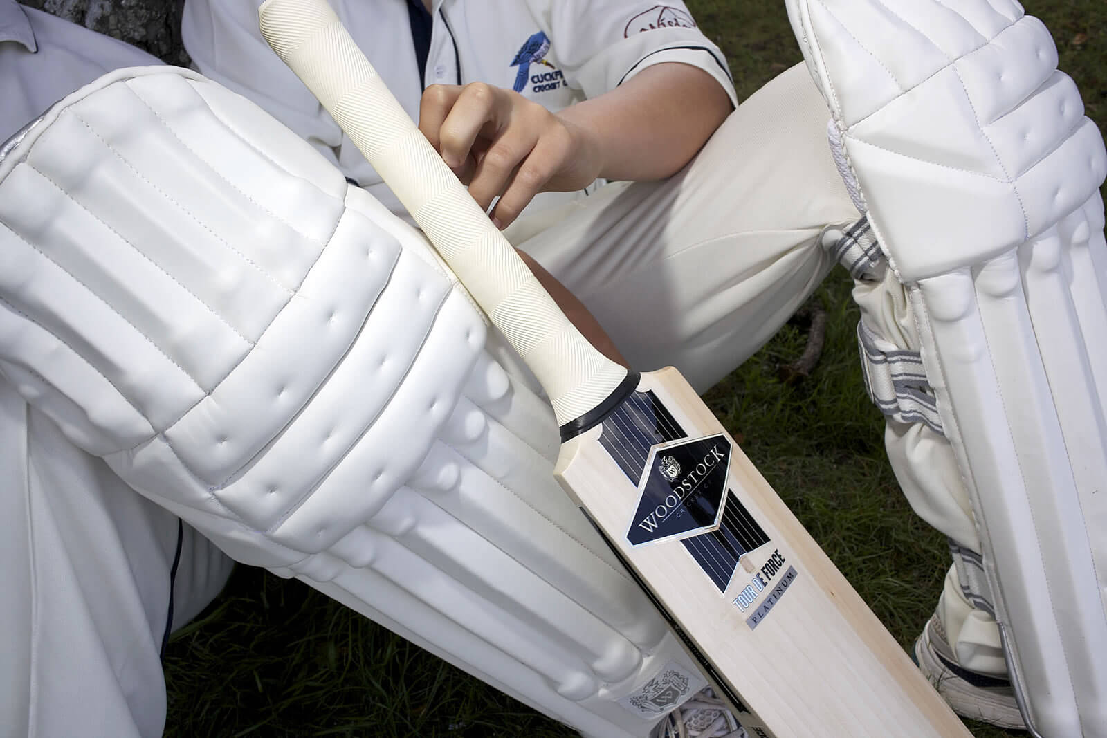 Woodstock cricket  pads and protection