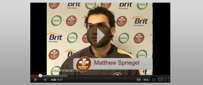 Interview with Matt Spriegel